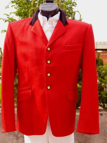 Jezdecké oblečení   Sako závodní červené pánské 175522bf102
