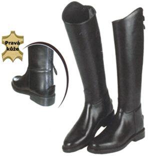 49754c8fc2b Jezdecká obuv   Boty vysoké kožené Eurohorseline