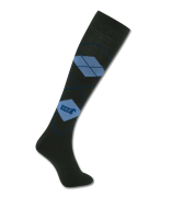 Jezdecké podkolenky ELT - černo - modré 02693fb4d3